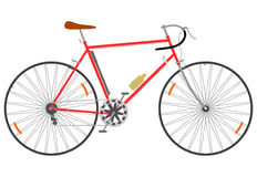 快速的自行车。 库存照片