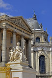 在凡尔赛之外的大别墅de 免版税库存照片
