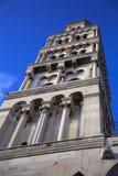 在分裂的著名塔,克罗地亚 免版税库存图片