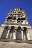在分裂的著名塔,克罗地亚 免版税库存照片