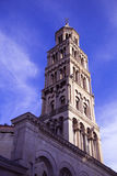 在分裂的著名塔,克罗地亚 库存图片