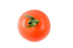 在分隔的蕃茄白色 库存照片