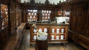 在列奥纳多・达・芬奇博物馆 免版税库存照片