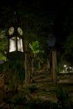 在别墅Borghese的水钟 图库摄影