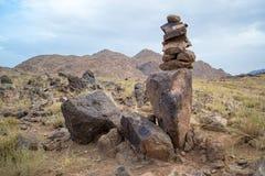 在别的岩石一 库存图片