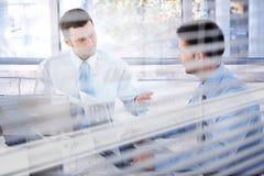 在办公室的Businessteam 免版税图库摄影