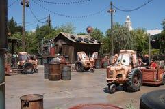 在加利福尼亚冒险的Mater乘驾 图库摄影