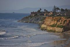 在加利福尼亚的日落 免版税库存照片