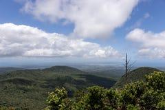 在加勒比岛瓜德罗普的农村风景 库存图片