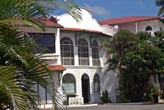 在加勒比-巴拿马共和国的大厦 库存图片