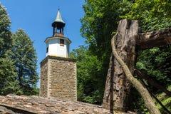 在加布罗沃附近,保加利亚镇的建筑民族志学复杂Etar Etara  图库摄影