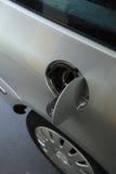 在加油站的抽的气体 库存图片