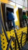 在加油站的燃料dispencer 免版税库存图片