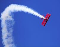 在加蒂诺,加拿大的飞行表演 图库摄影