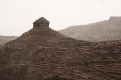 在加那利群岛的山 免版税图库摄影