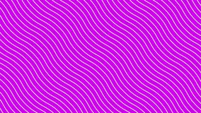 在动态波动,桃红色背景的白色弯曲的线 未来几何对角线样式行动背景 库存例证