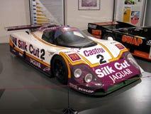 1988年在勒芒24博物馆的捷豹汽车XJR9 免版税库存照片