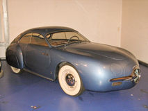 1952年在勒芒24博物馆的Socema Grégoire原型 免版税库存照片
