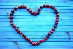 在包伙食的新鲜的甜樱桃 庭院新鲜的有机樱桃 免版税库存照片