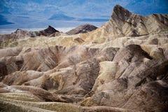 在化石森林国家公园,亚利桑那美国的蓝色Mesa 免版税库存图片