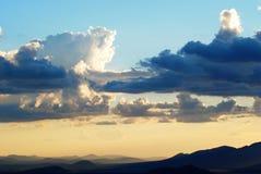 在北亚利桑那的暴风云 免版税库存图片
