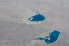 在北冰洋的Icefields 免版税图库摄影