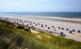 在北海的西海岸 免版税库存图片