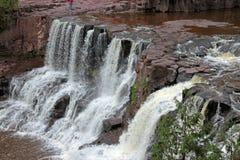 在北部岸的瀑布 免版税图库摄影