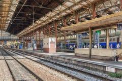 在北部铁路的高速火车 巴黎 库存照片