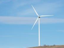 在北部NY的风轮机 免版税库存照片
