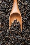 在匙子的茶 免版税库存图片