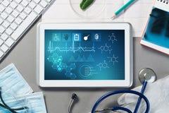 在医学的数字技术 免版税图库摄影