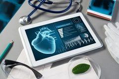 在医学的数字技术 免版税库存图片