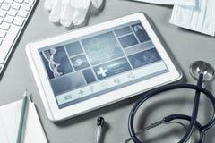 在医学的数字技术 免版税库存照片