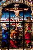 在十字架上钉死斯德哥尔摩 库存照片
