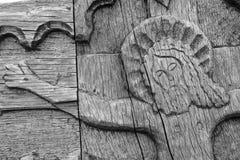 在十字架上钉死耶稣 免版税图库摄影