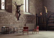 在十字架上钉死 免版税库存照片