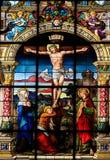 在十字架上钉死斯德哥尔摩 免版税库存图片