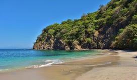 在半岛Papagayo在Guanacaste,哥斯达黎加的Playa Virador 免版税库存照片