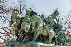 在华盛顿特区的南北战争纪念雕象 免版税库存照片