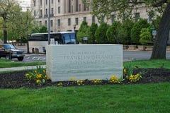 在华盛顿特区的原始的富兰克林・德拉诺・罗斯福纪念品 免版税库存图片