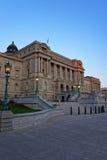 在华盛顿特区的国会图书馆大厦 免版税库存照片