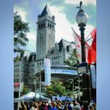 在华盛顿特区的土耳其节日 免版税库存照片