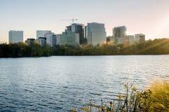 在华盛顿特区的地平线 免版税库存图片