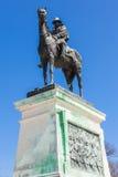 在华盛顿特区的尤利西斯・辛普森・格兰特纪念雕象 免版税库存图片