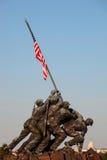 在华盛顿特区的硫磺岛雕象 免版税图库摄影