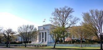在华盛顿特区的美国联邦储备委员会大厦 图库摄影