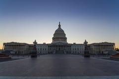 在华盛顿特区的美国首都大厦,美国 库存照片