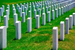 在华盛顿特区附近的阿灵顿国家公墓VA 库存照片