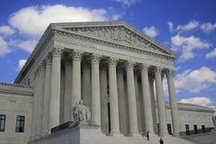 在华盛顿特区2015年7月的最高法院 库存照片